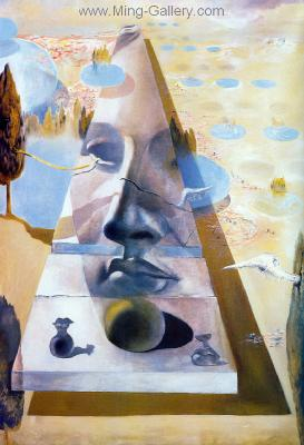 DAL0003 - Salvador Dali Surrealist Art Reproduction OilonCanvas Painting