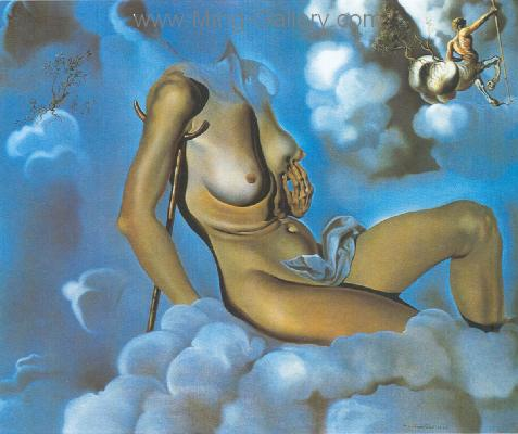 DAL0006 - Salvador Dali Surrealist Art Reproduction OilonCanvas Painting