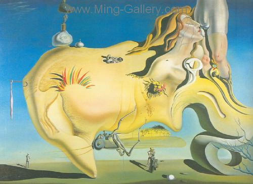 DAL0024 - Salvador Dali Surrealist Art Reproduction OilonCanvas Painting