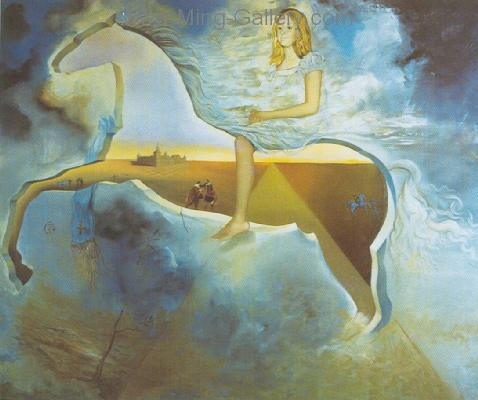 DAL0040 - Salvador Dali Surrealist Art Reproduction OilonCanvas Painting