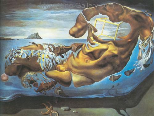 DAL0045 - Salvador Dali Surrealist Art Reproduction OilonCanvas Painting