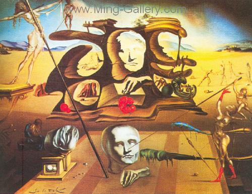 DAL0046 - Salvador Dali Surrealist Art Reproduction OilonCanvas Painting