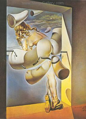 DAL0051 - Salvador Dali Surrealist Art Reproduction OilonCanvas Painting