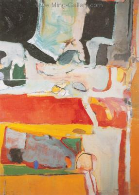 DIE0002 - Richard Diebenkorn Painting Reproduction