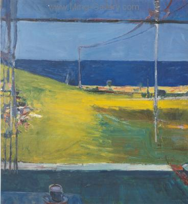 DIE0004 - Richard Diebenkorn Painting Reproduction