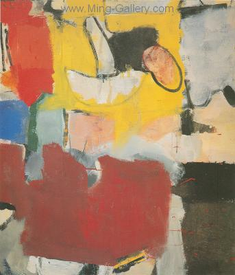 DIE0007 - Richard Diebenkorn Painting Reproduction