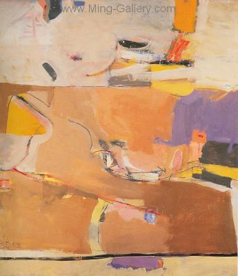 DIE0009 - Richard Diebenkorn Painting Reproduction