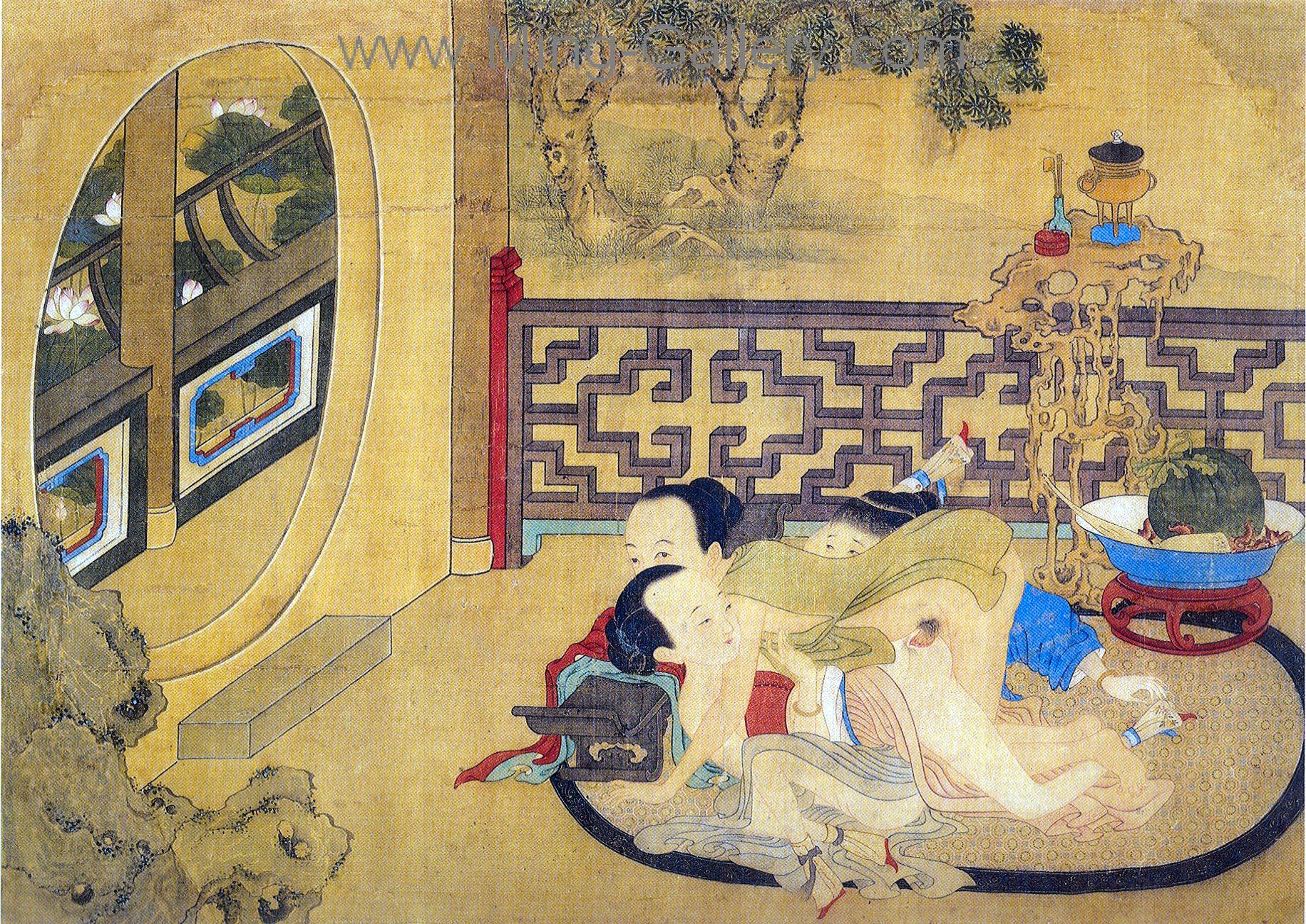 Old Erotic Paintings