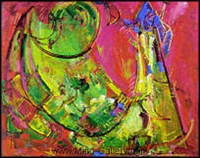 HOF0003 - Hans Hofmann Oil Painting Reproduction