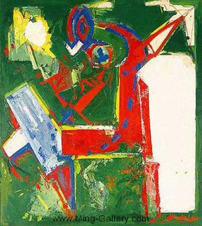 HOF0004 - Hans Hofmann Oil Painting Reproduction