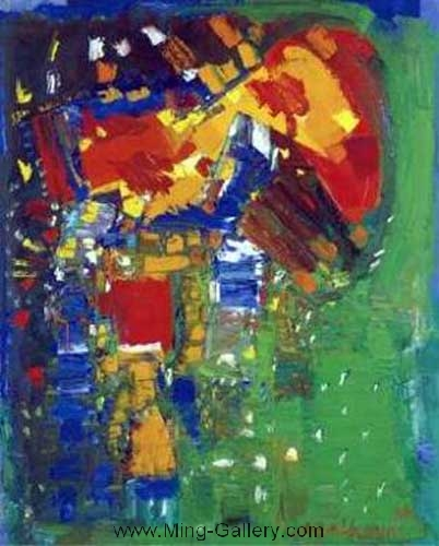 HOF0005 - Hans Hofmann Oil Painting Reproduction