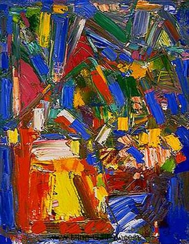 HOF0033 - Hans Hofmann Oil Painting Reproduction