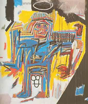 JMB0002 - JeanMichel Basquiat Reproduction Art Oil Painting