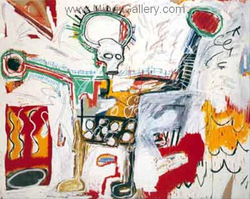 JMB0007 - JeanMichel Basquiat Reproduction Art Oil Painting
