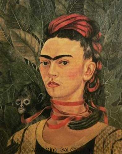 KAL0002 - Frida Kahlo Oil Painting Reproduction