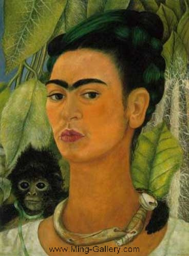 KAL0005 - Frida Kahlo Oil Painting Reproduction