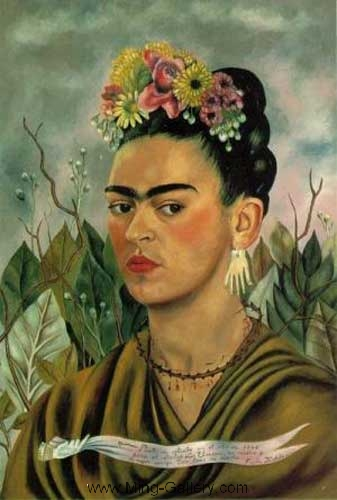 KAL0006 - Frida Kahlo Oil Painting Reproduction