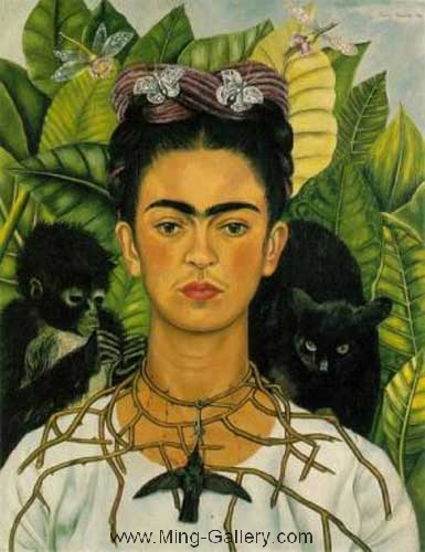 KAL0007 - Frida Kahlo Oil Painting Reproduction