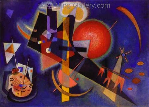 KAN0002 - Kandinsky Reproduction Art Painting