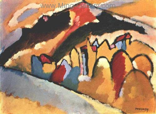 KAN0009 - Kandinsky Reproduction Art Painting
