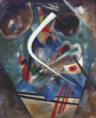 KAN0011 - Kandinsky Reproduction Art Painting
