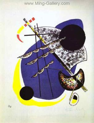 KAN0014 - Kandinsky Reproduction Art Painting