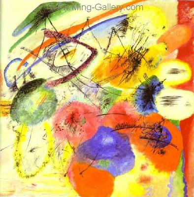 KAN0021 - Kandinsky Reproduction Art Painting