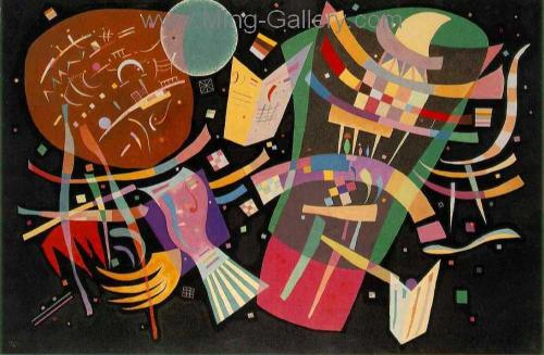 KAN0035 - Kandinsky Reproduction Art Painting