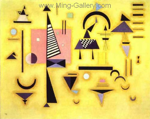 KAN0047 - Kandinsky Reproduction Art Painting