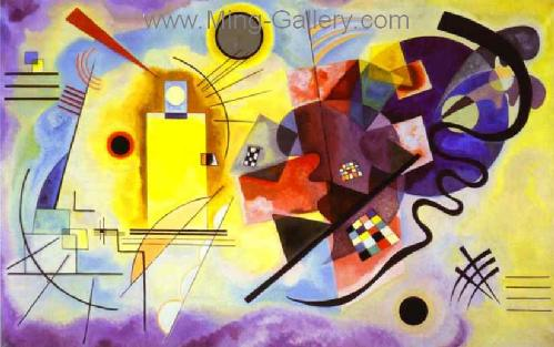 KAN0055 - Kandinsky Reproduction Art Painting