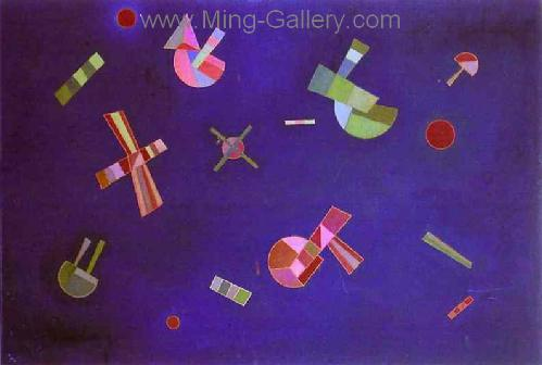 KAN0062 - Kandinsky Reproduction Art Painting