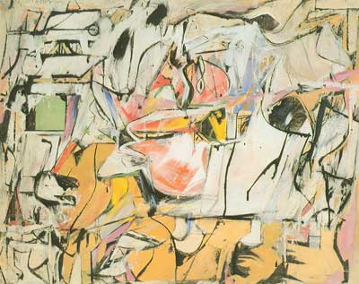 Koo15 - Willem De Kooning Art Reproduction Painting