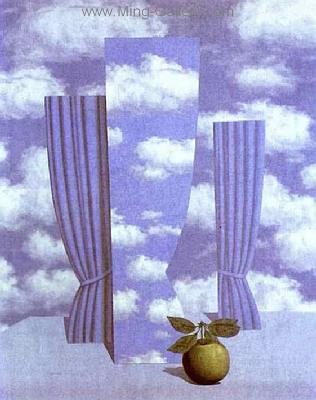 MAG0003 - Rene Magritte Surrealist Art Reproduction