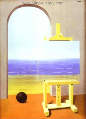 MAG0005 - Rene Magritte Surrealist Art Reproduction