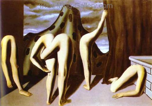 MAG0006 - Rene Magritte Surrealist Art Reproduction