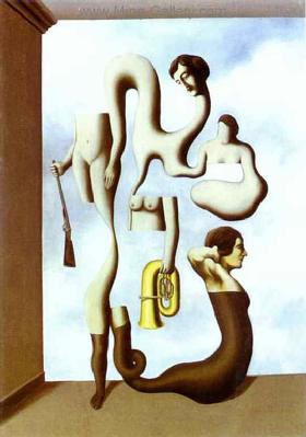 MAG0008 - Rene Magritte Surrealist Art Reproduction