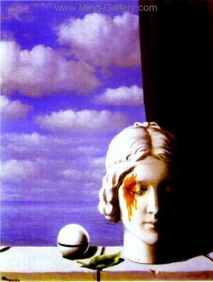 MAG0010 - Rene Magritte Surrealist Art Reproduction
