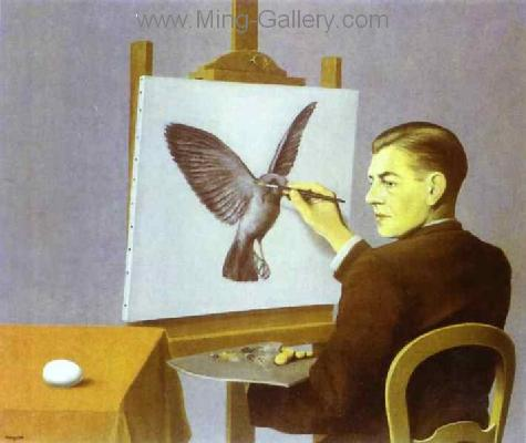MAG0030 - Rene Magritte Surrealist Art Reproduction