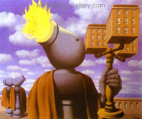 MAG0032 - Rene Magritte Surrealist Art Reproduction