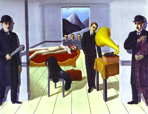 MAG0039 - Rene Magritte Surrealist Art Reproduction