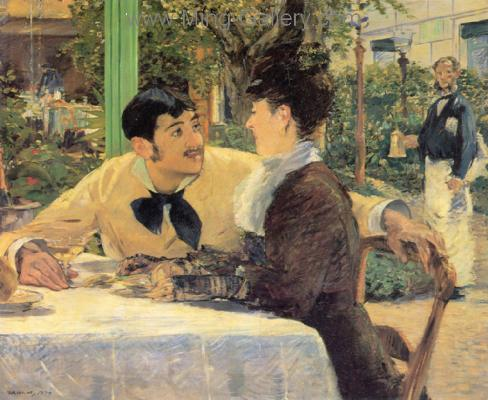 MAN0021 - Manet Impressionist Painting Reproduction Art