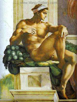 MIC0002 - Michelangelo Oil Painting Copy