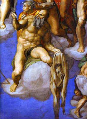 MIC0005 - Michelangelo Oil Painting Copy