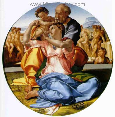 MIC0008 - Michelangelo Oil Painting Copy