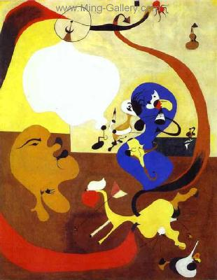 MIR0005 - Miro Art Reproduction Painting