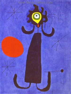 MIR0011 - Miro Art Reproduction Painting