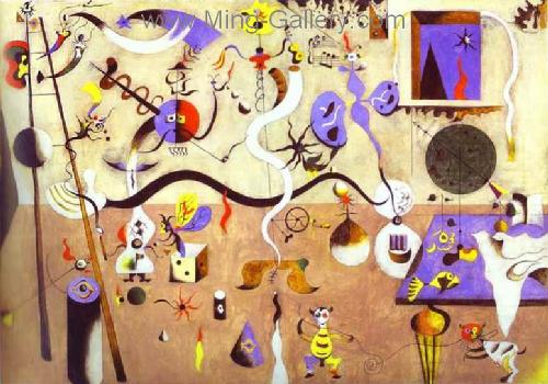 MIR0022 - Miro Art Reproduction Painting
