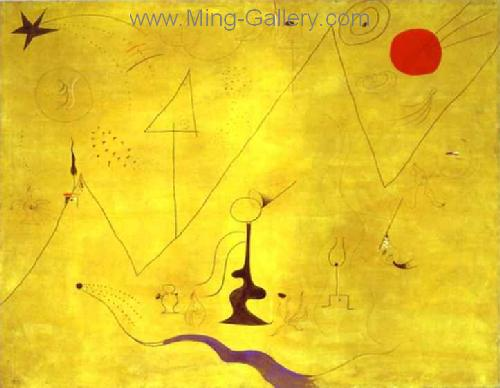 MIR0023 - Miro Art Reproduction Painting