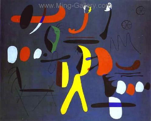MIR0029 - Miro Art Reproduction Painting