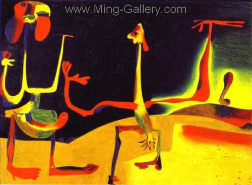 MIR0036 - Miro Art Reproduction Painting